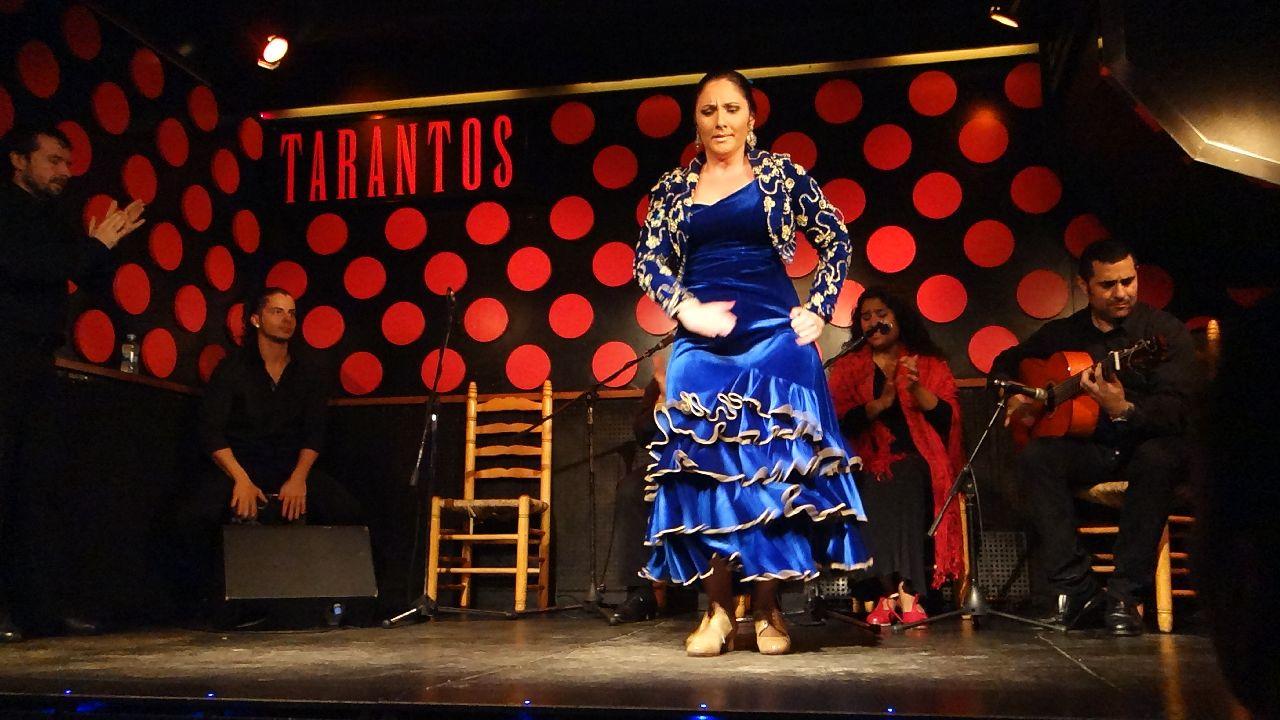 Protagonista show-ului flamenco