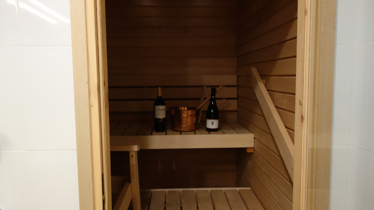 Rasfat la sauna :)