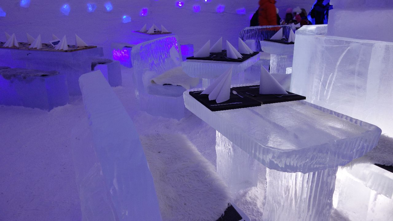 Snow Restaurant in Snow Village