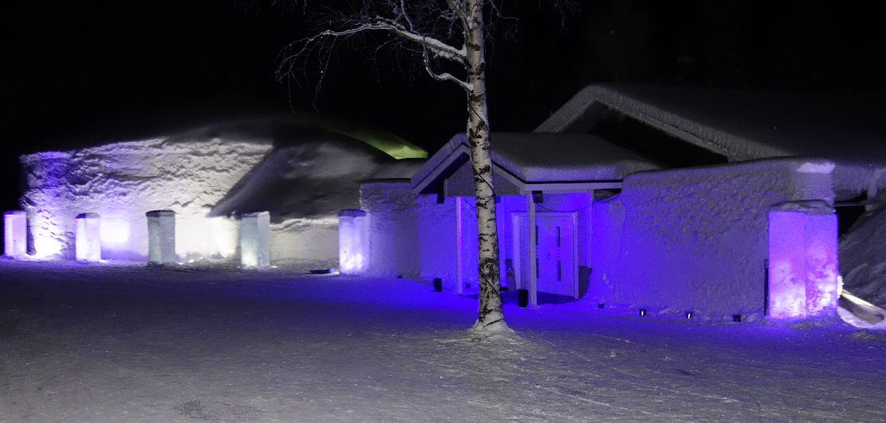 Snow Village la exterior