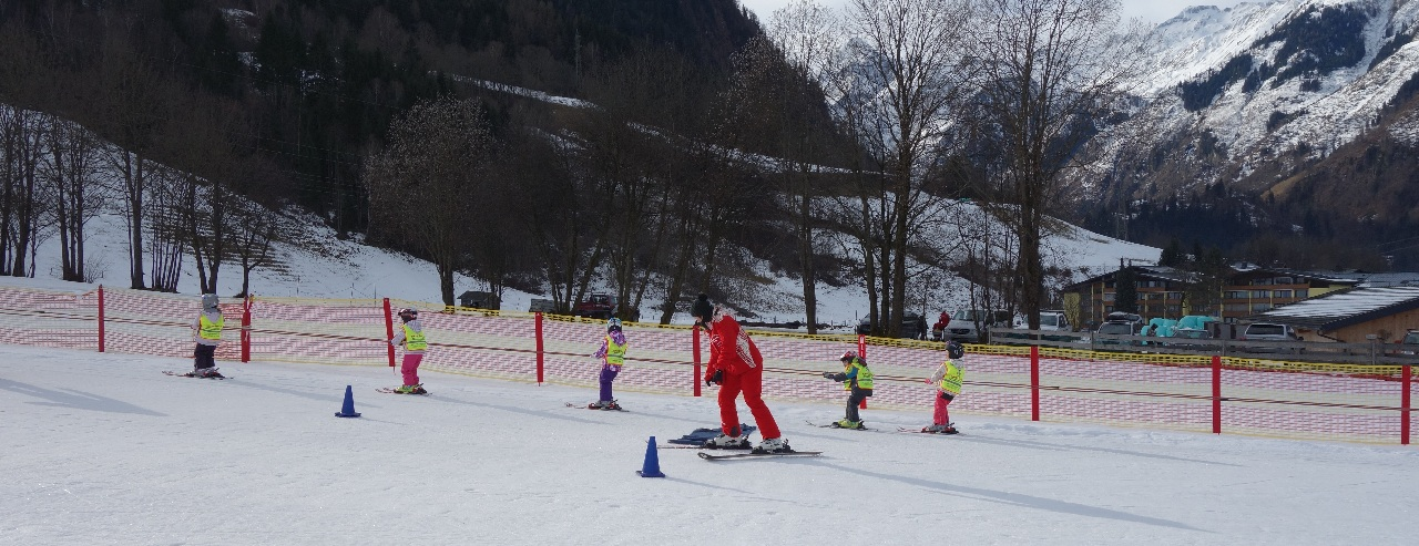 Boboci la schi