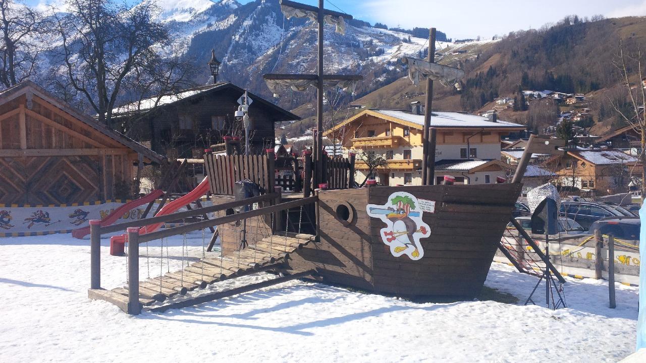 Locul de joaca din incinta Scolii de schi