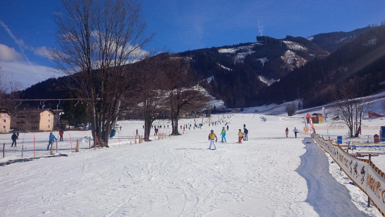 Partia de schi pentru incepatori