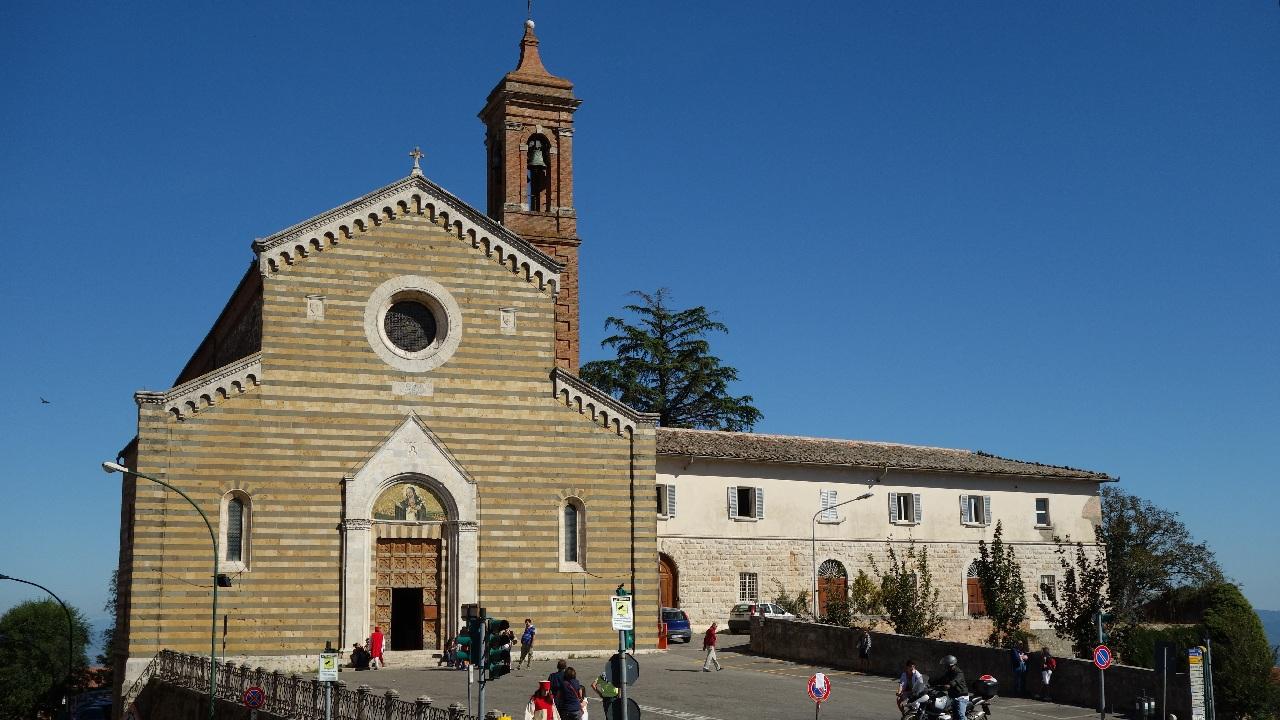 Biserica Santa Agnese, patroana spirituala a localitatii Montepulciano