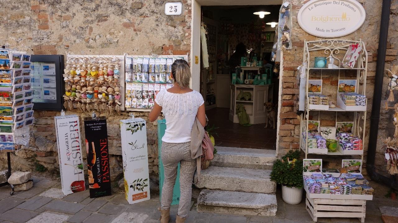 Boutique in Bagno Vignoni