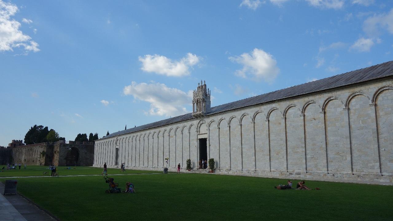 Intrarea in Camposanto