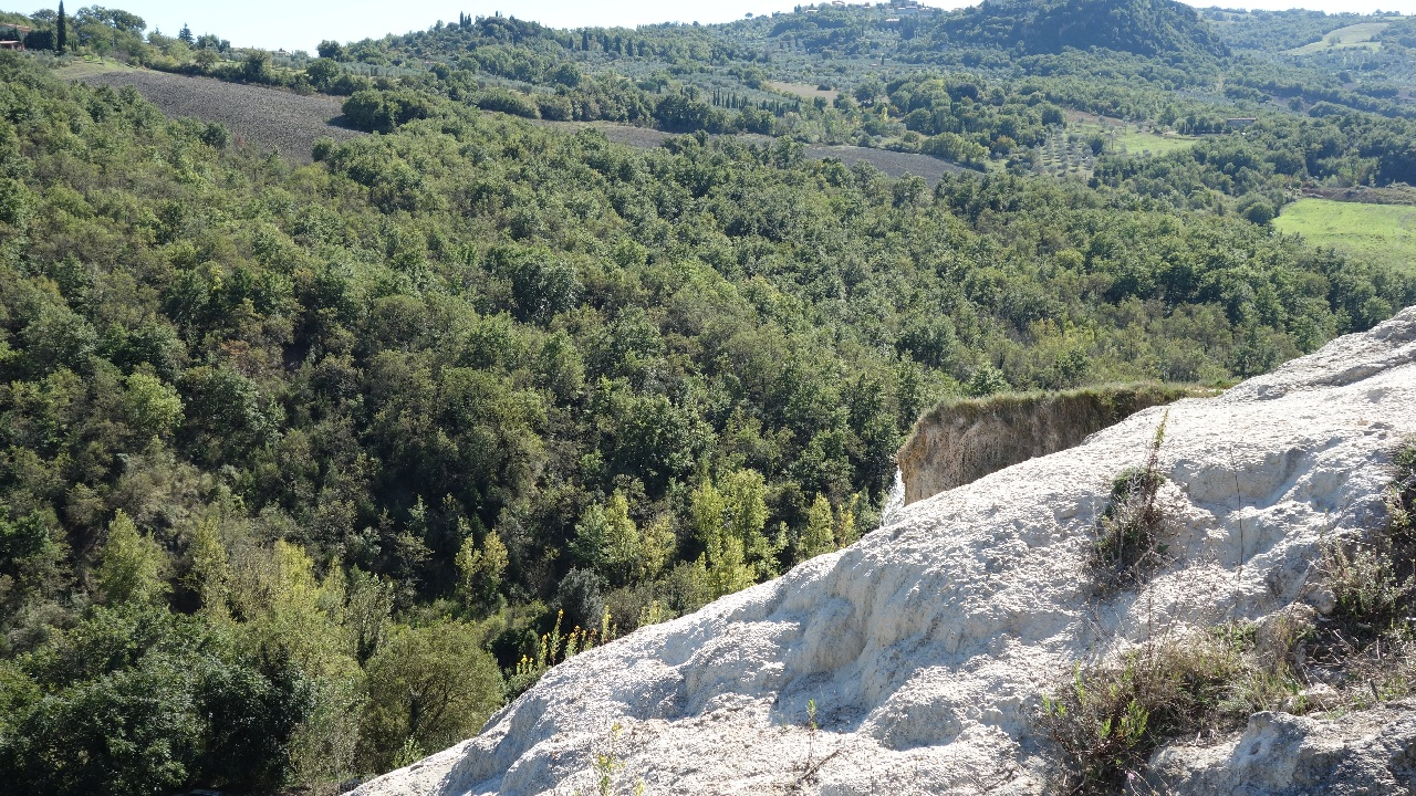 Cadere de apa Bagno Vignoni