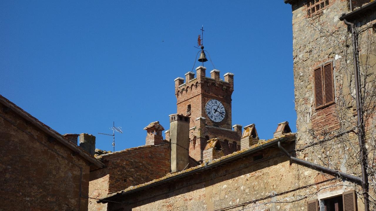 Turnul cu Ceas - Pienza