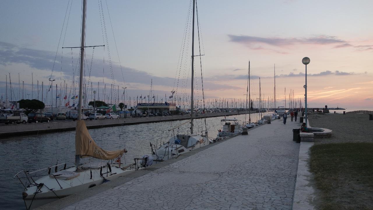 Canalul Burlamacca, zona de promenada a orasului