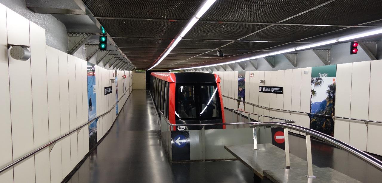 Funicularul pentru Montjuic