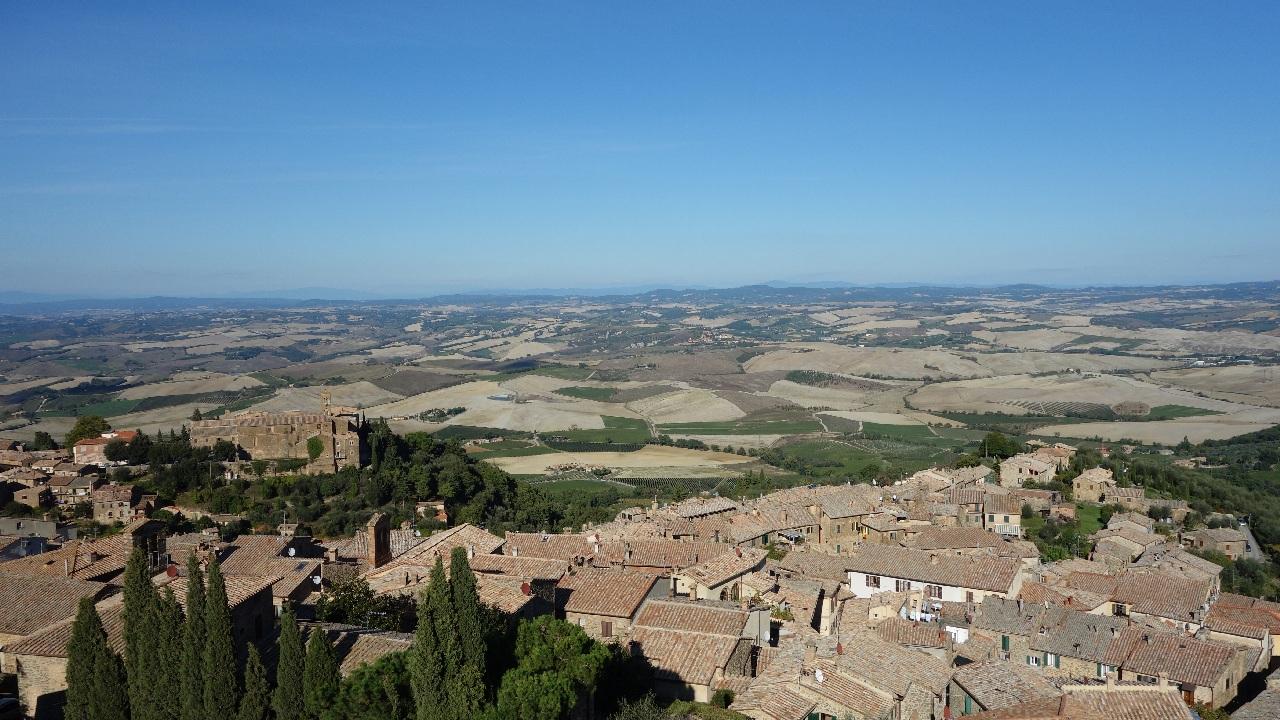 Imprejurimile orasului Montalcino