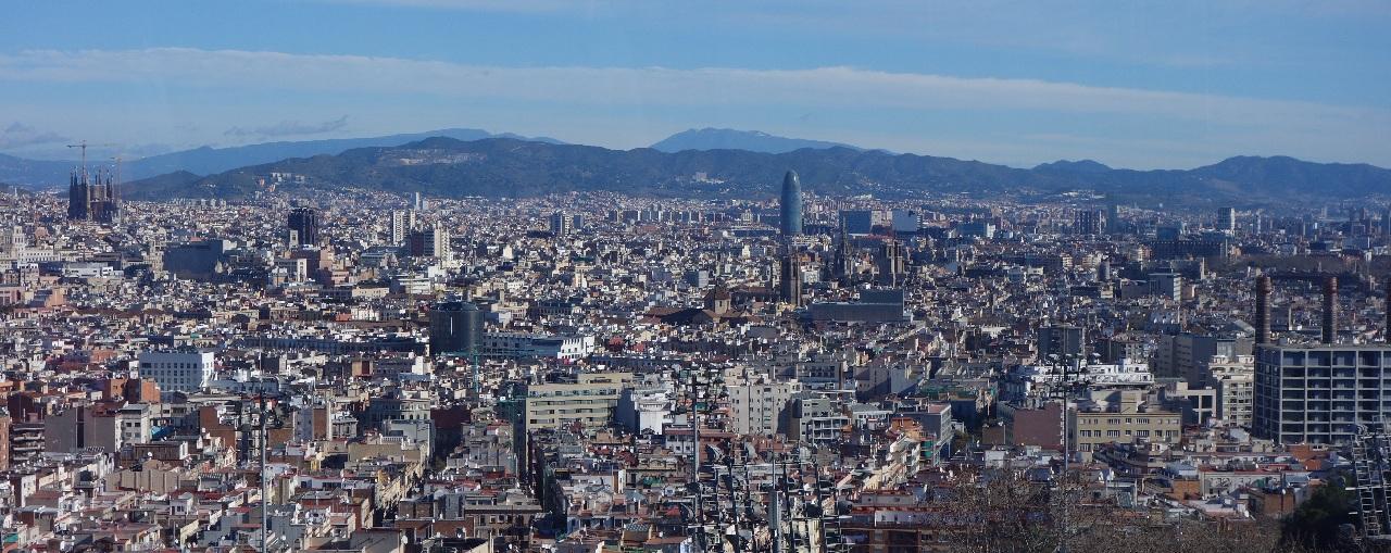 Barcelona panoramica
