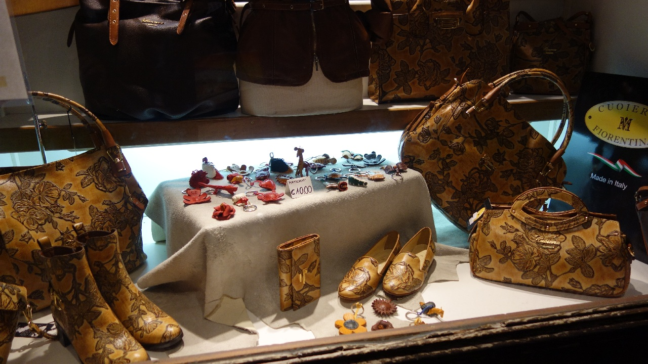 Magazin de pielarie italiana