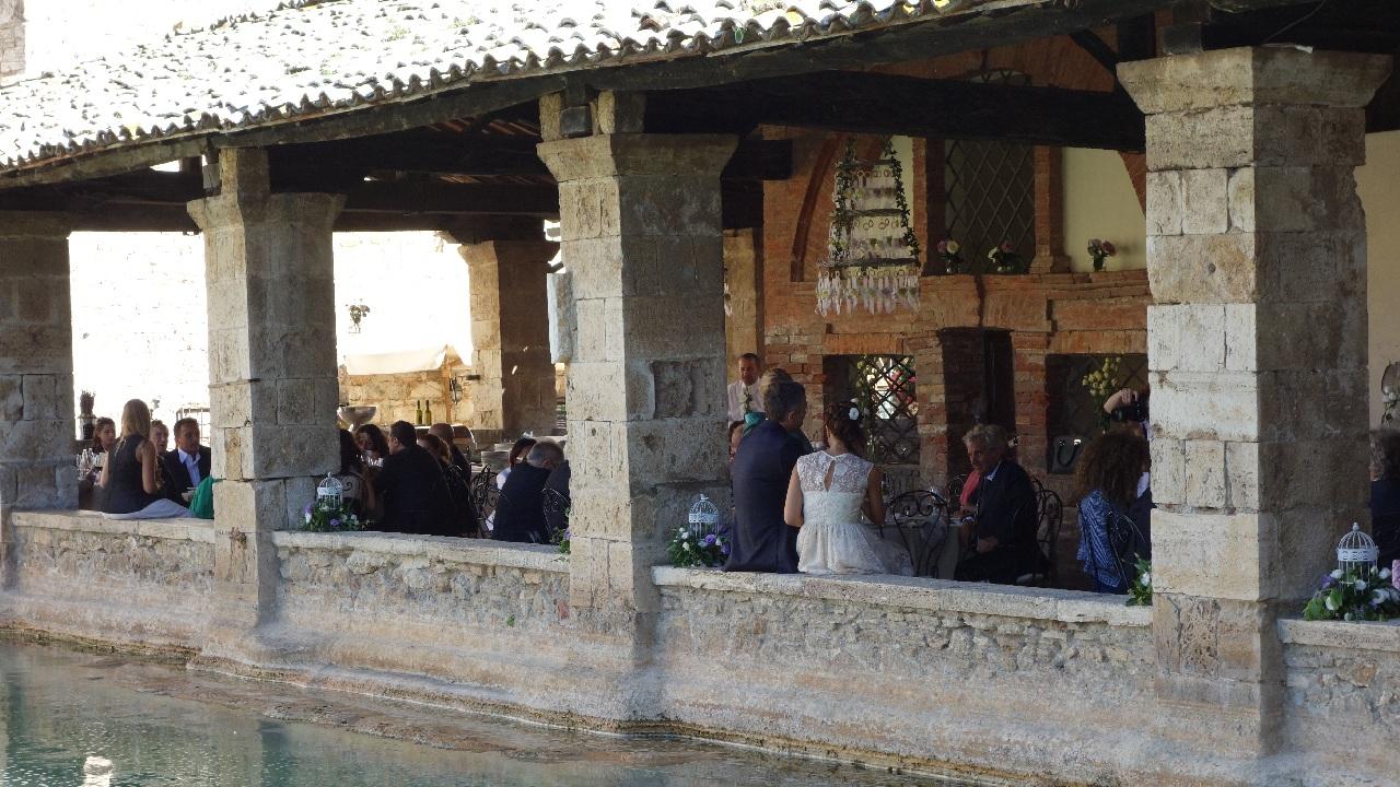 Nunta in Bagno Vignoni