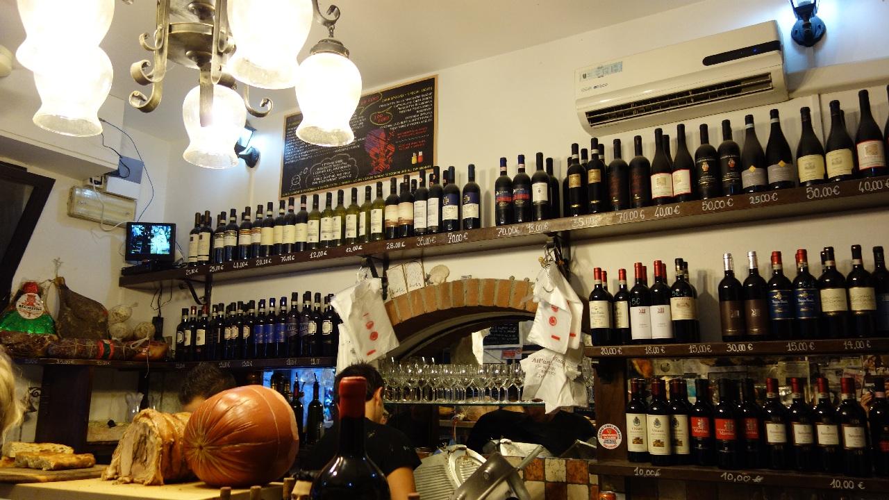 Localul All'Antico Vinaio