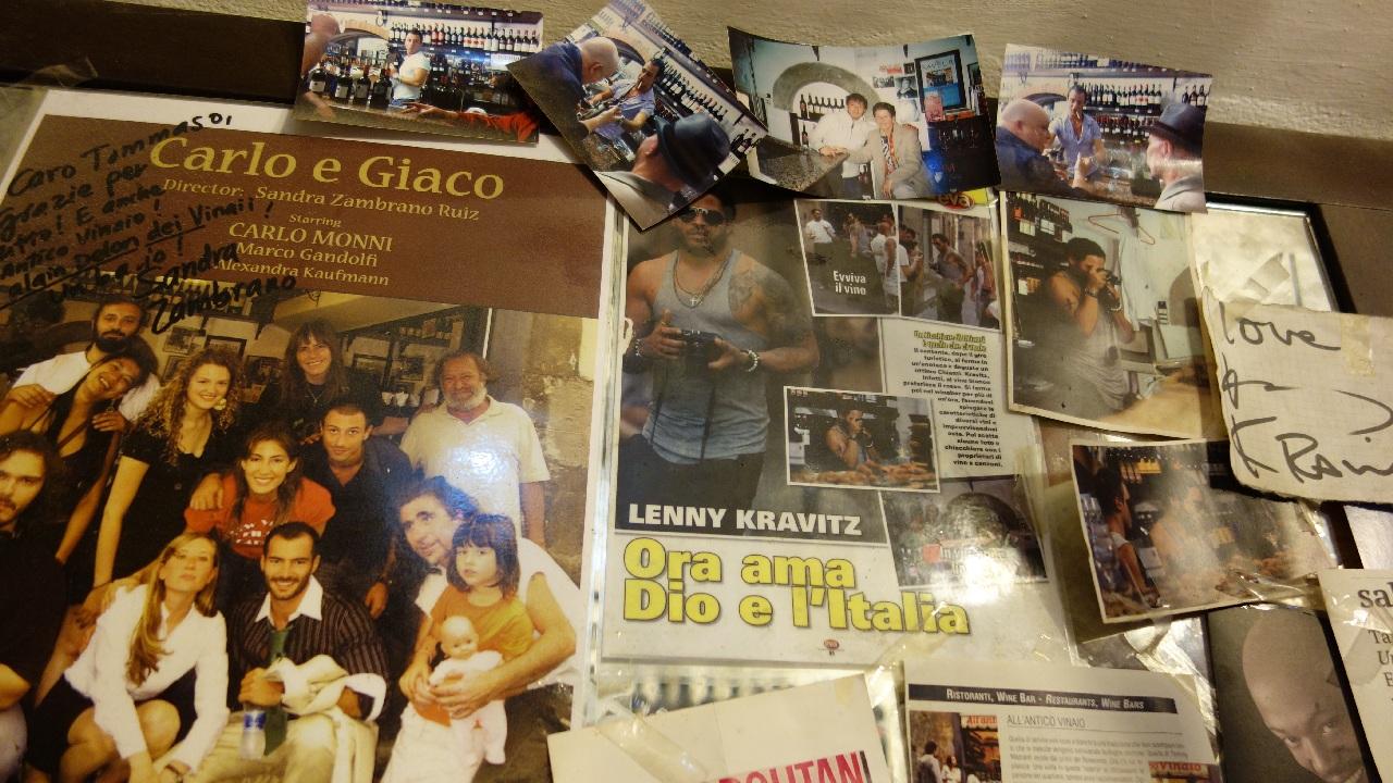 Lenny Kravitz la All'Antico Vinaio