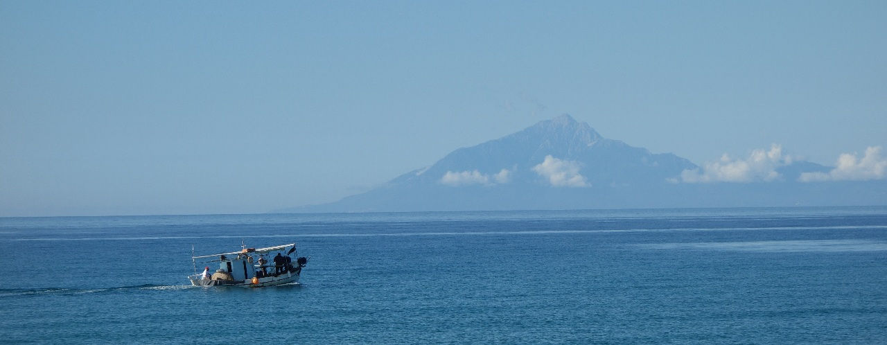 Marea Egee si Muntele Athos
