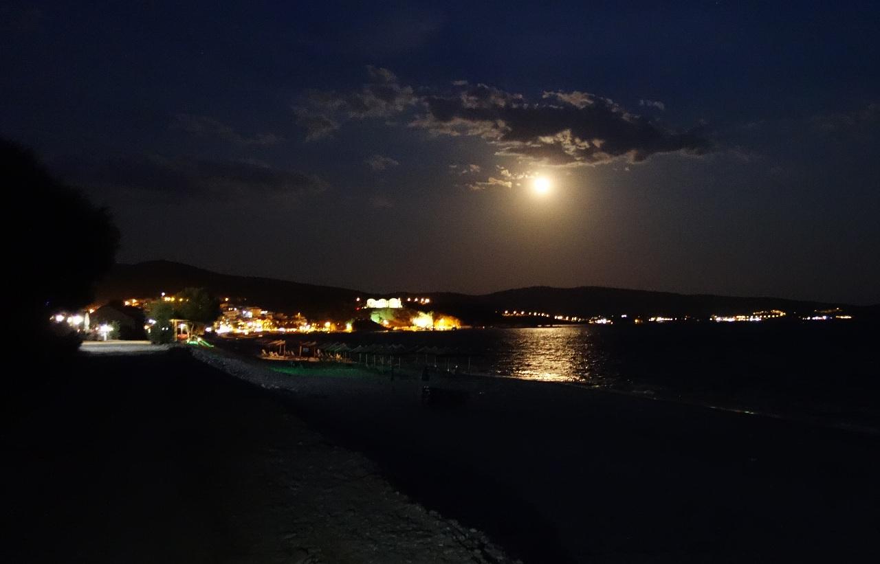 Plimbarea de seara, sub clar de luna
