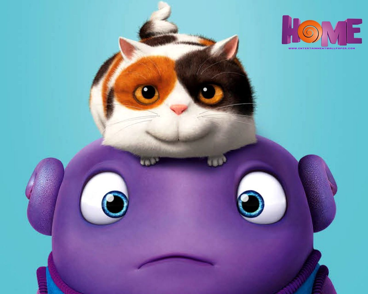 """Boov-ul Oh, personajul principal al filmului """"Home"""""""
