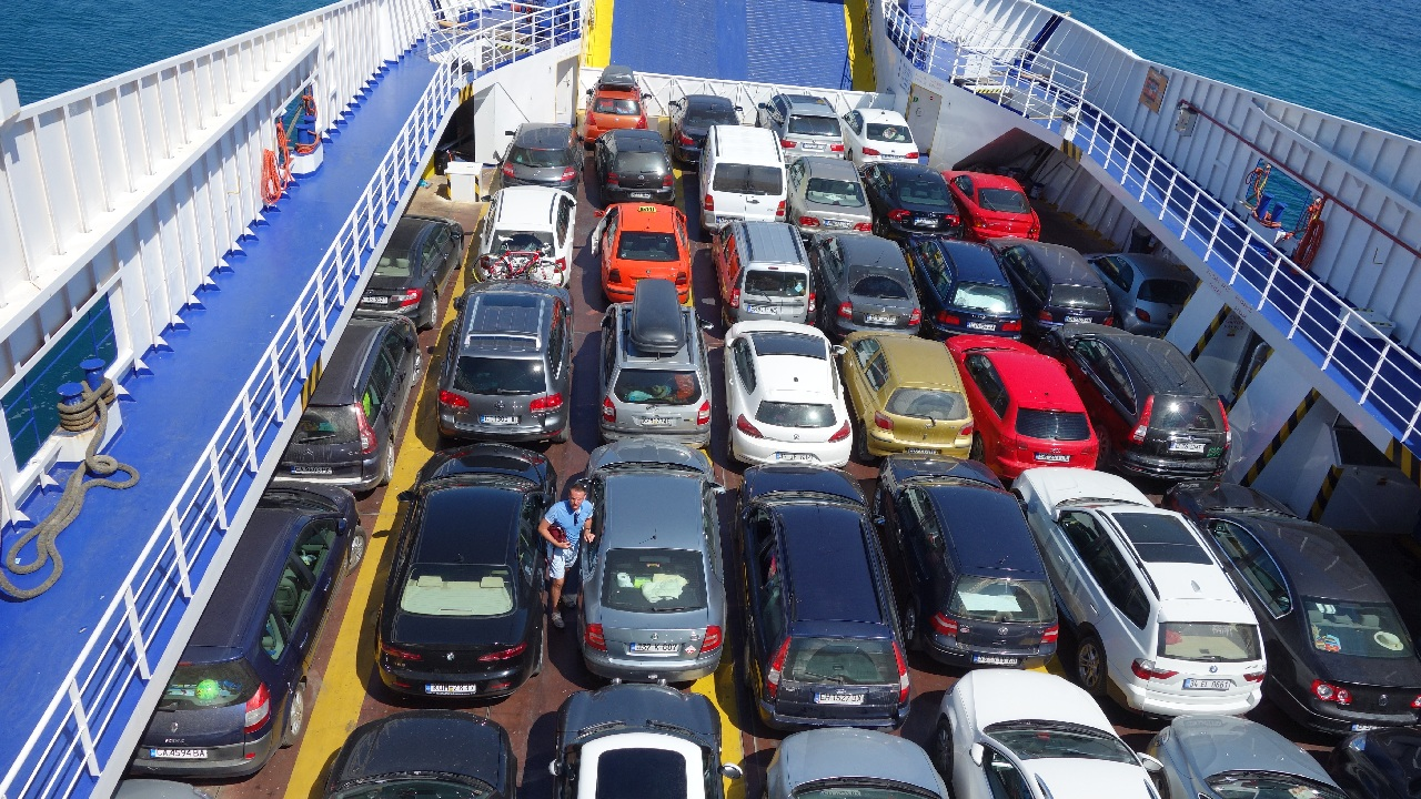 Parcarea pe ferry