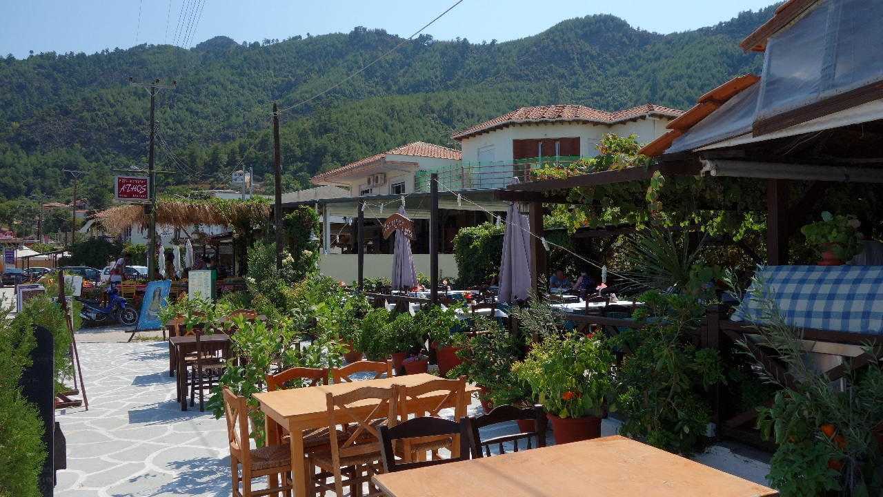 Taverna in Thassos
