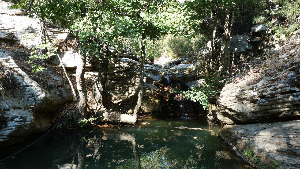 Una din cascadele de la Maries