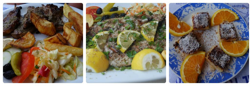 Alte preparate din meniul Pyrofani si desertul din partea casei