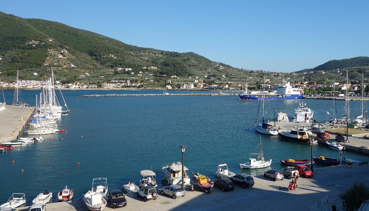 Portul Skopelos