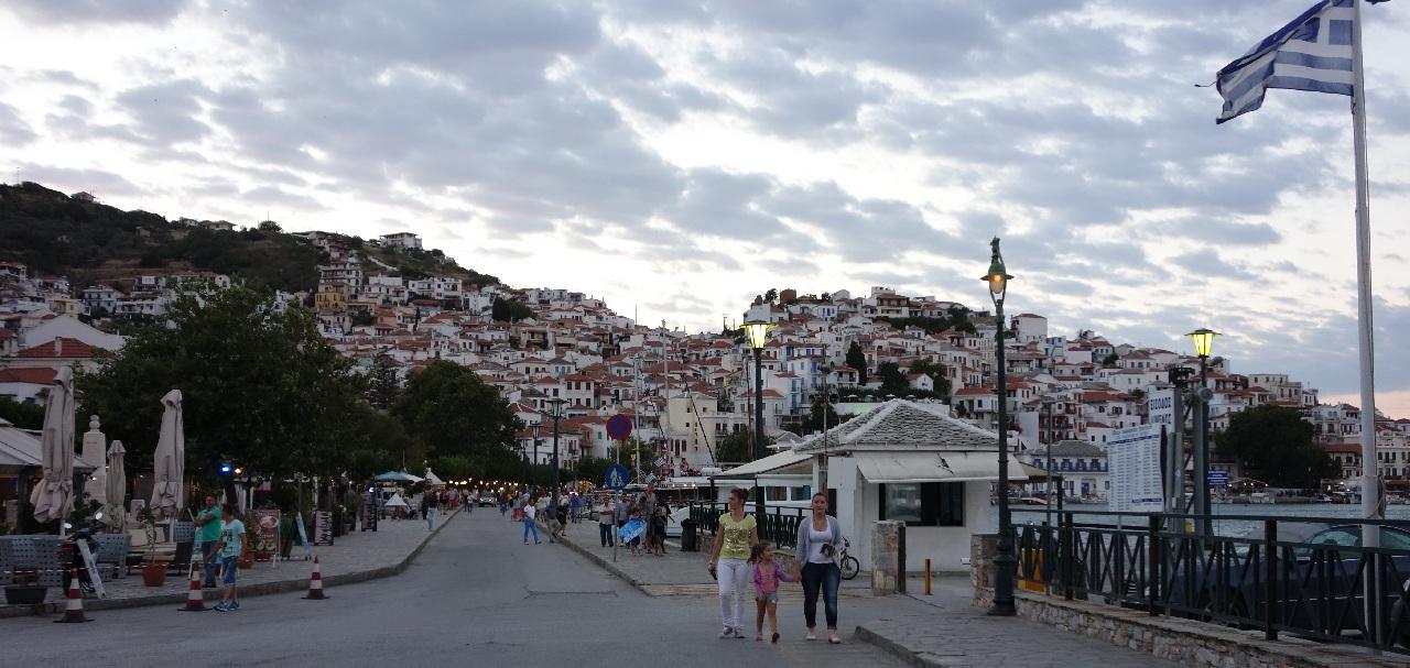 Bye-bye, Skopelos Town!