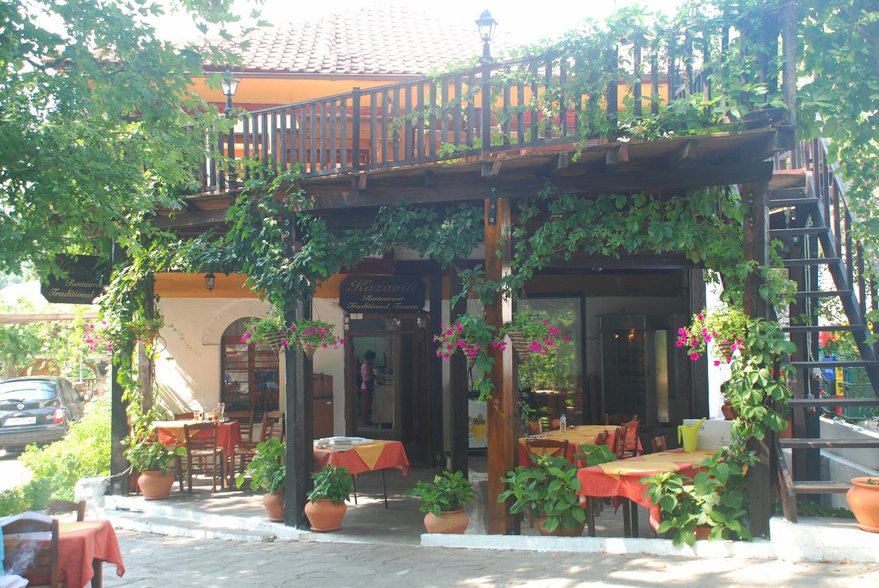 Taverna Kazaviti - satul Kazaviti
