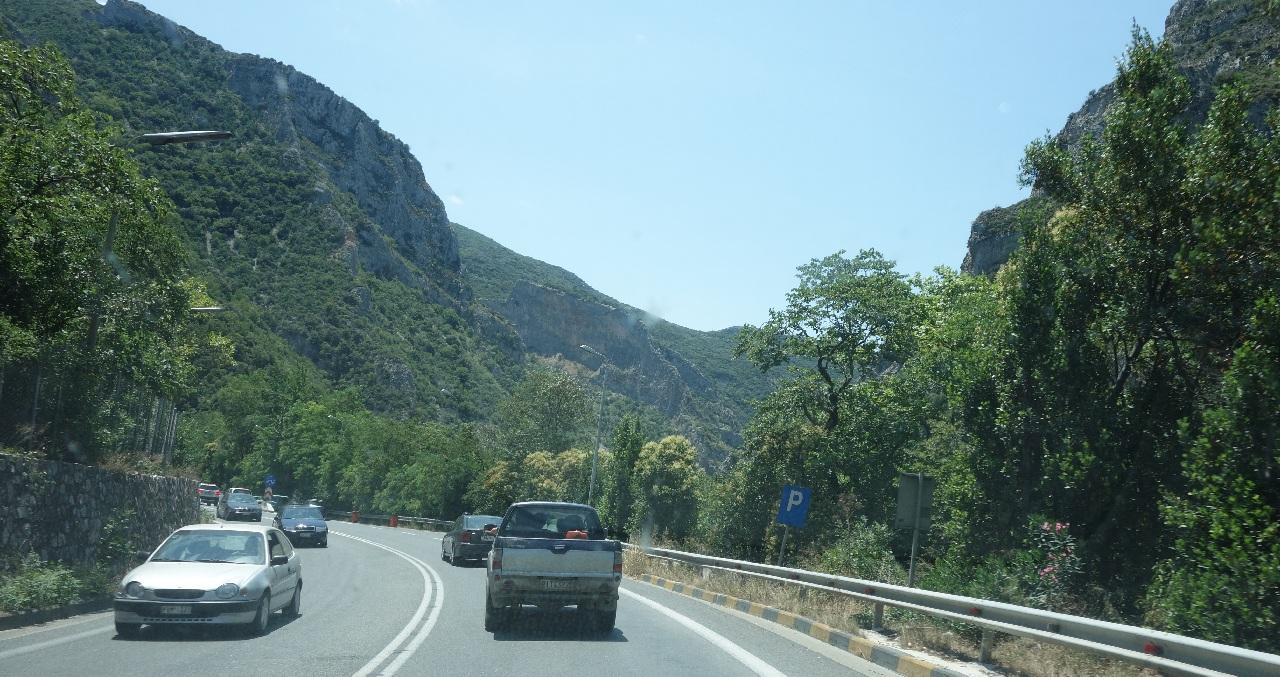 Traseul prin Grecia