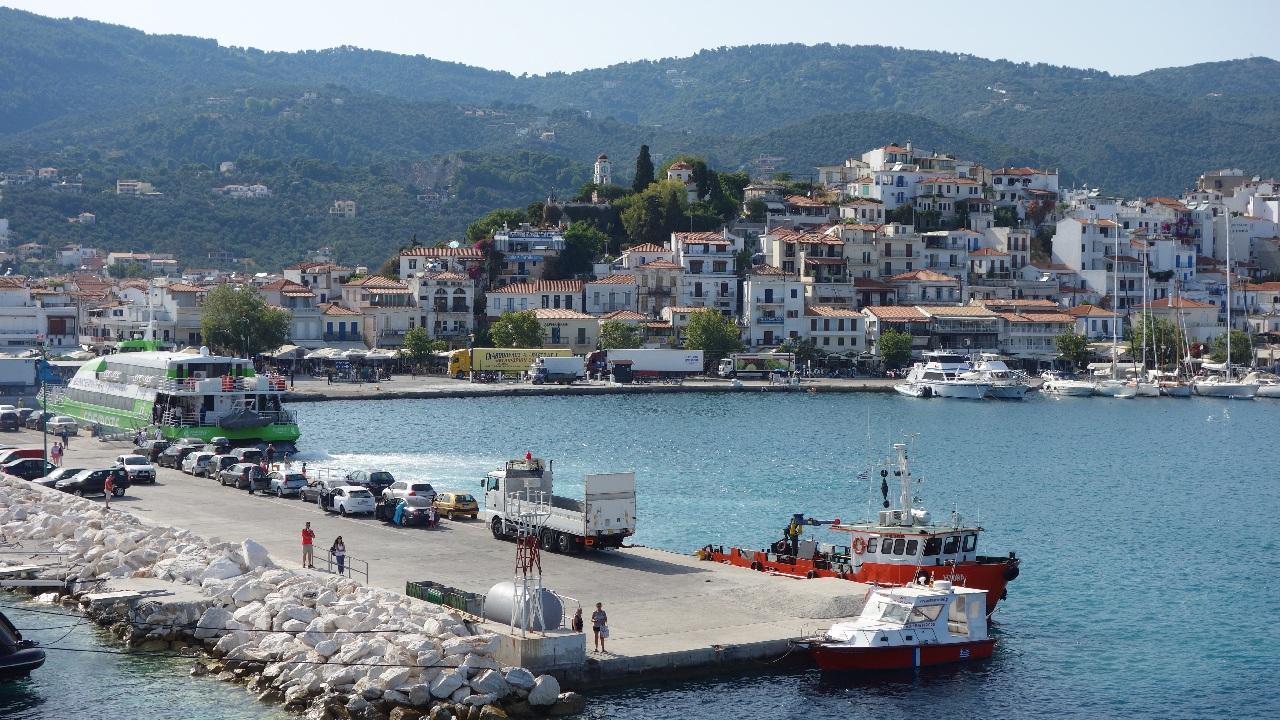 Skiathos Town - Portul Nou