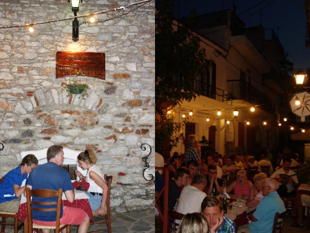 Aglomeratie mare la Taverna Alexandros