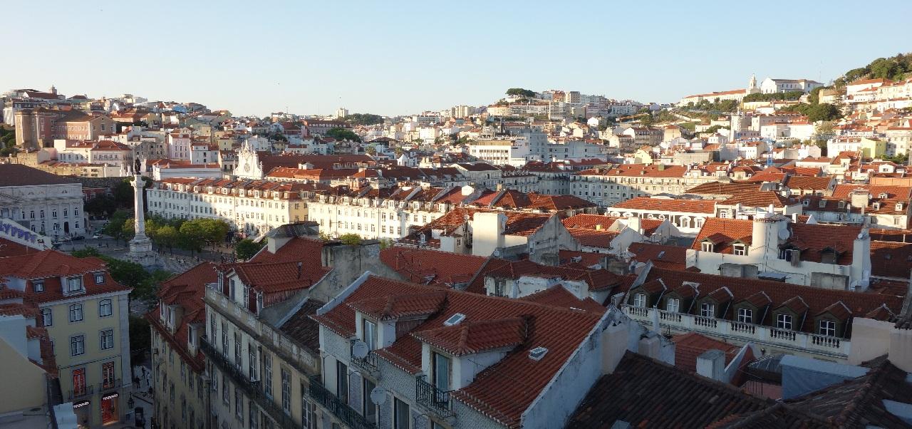 Apus de soare peste inima Lisabonei