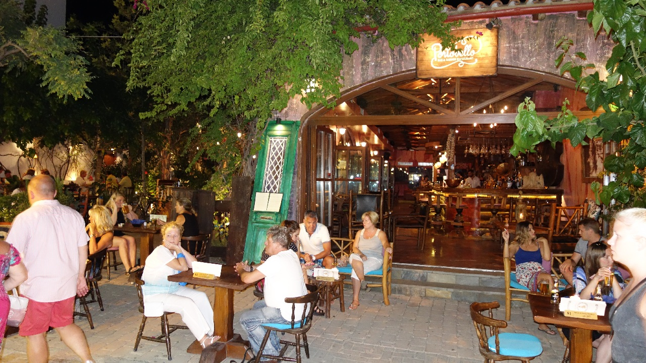 Seara la restaurantul Portobello