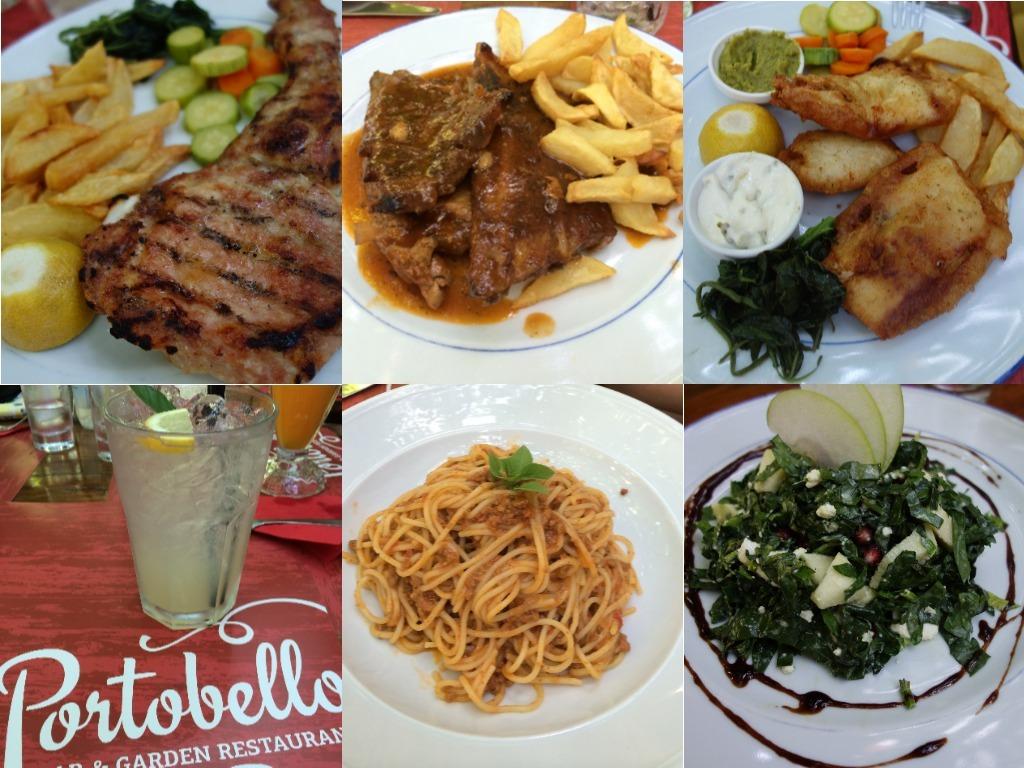 Dejunul de la Restaurantul Portobello
