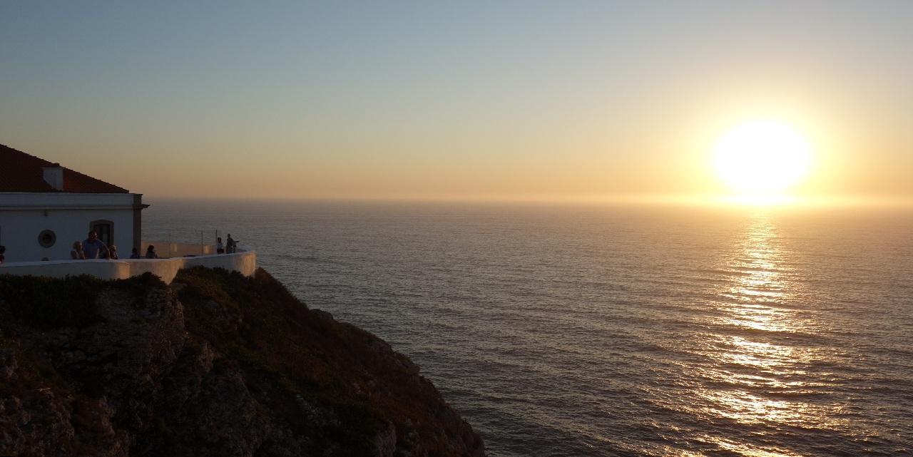 Apus de soare la Cabo de Sao Vicente