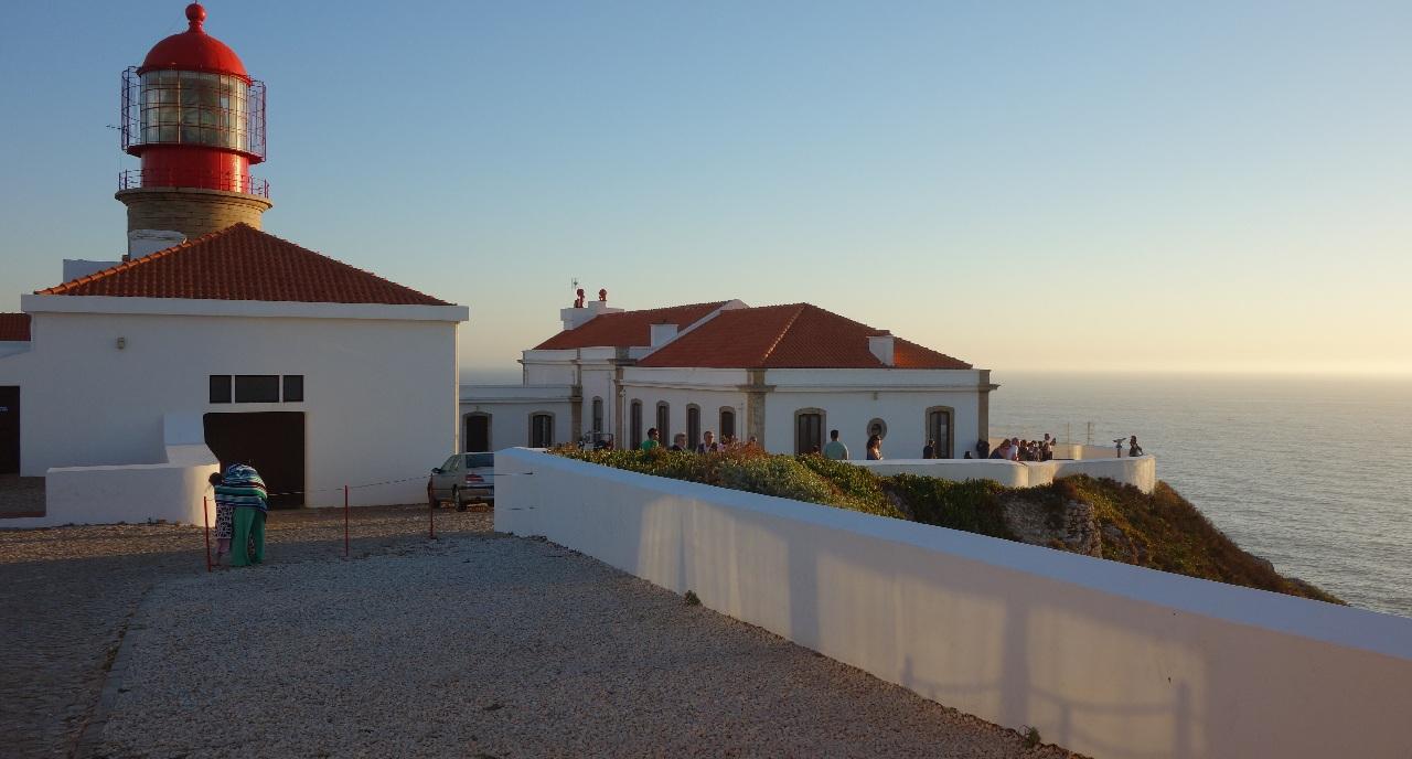 Cabo de Sao Vicente - curtea interioara