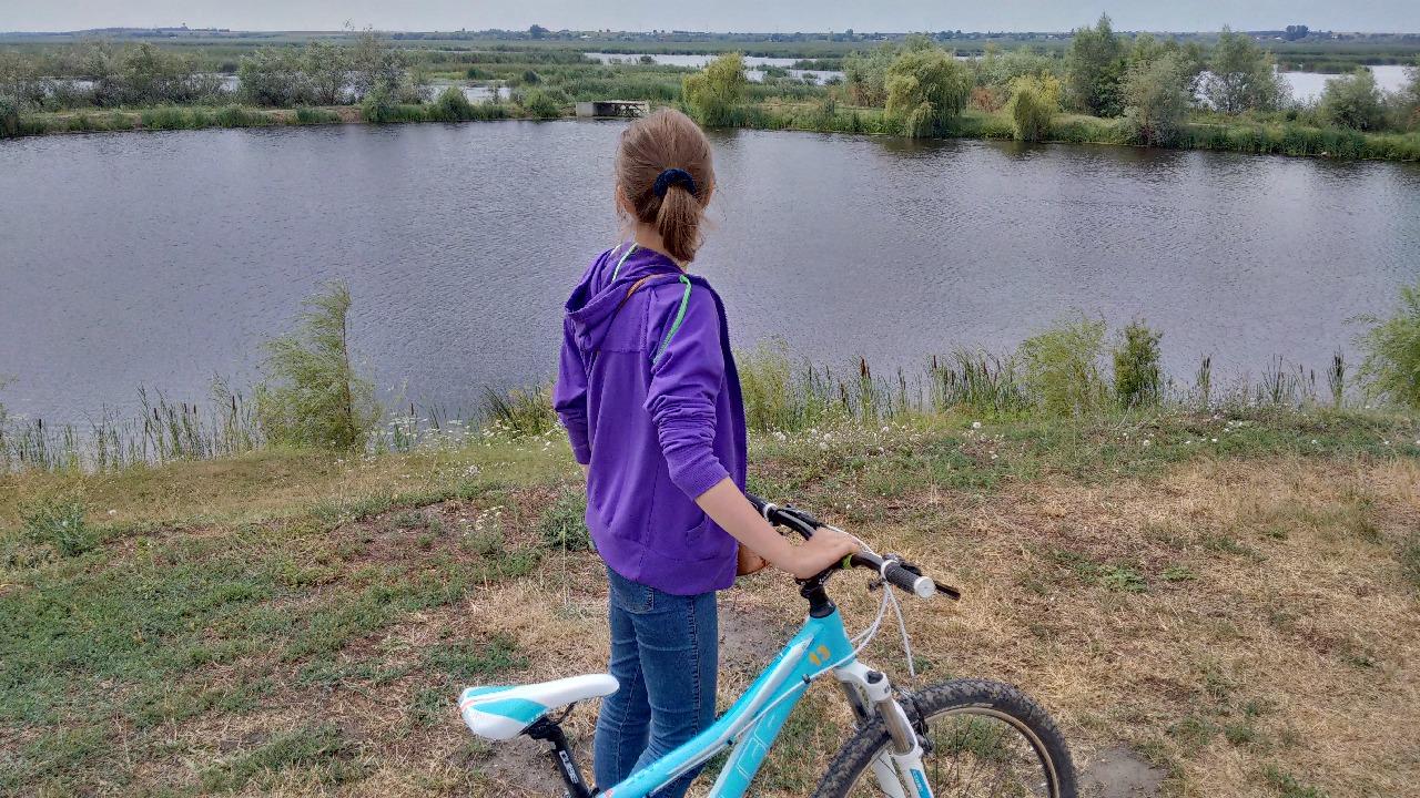 Plimbare cu bicicleta pe marginea Deltei Neajlovului