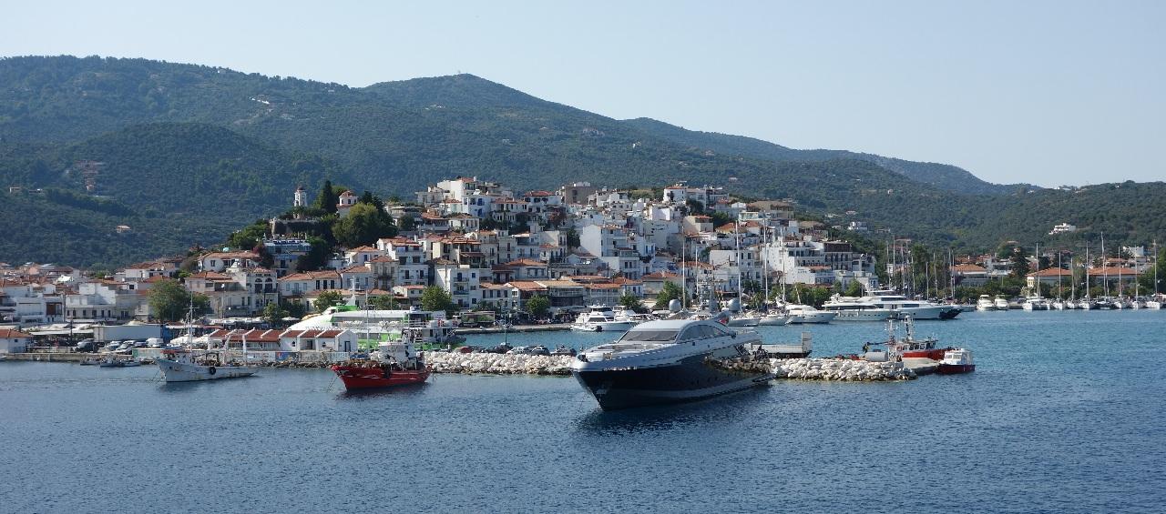 Skiathos-Town (Portul Nou)