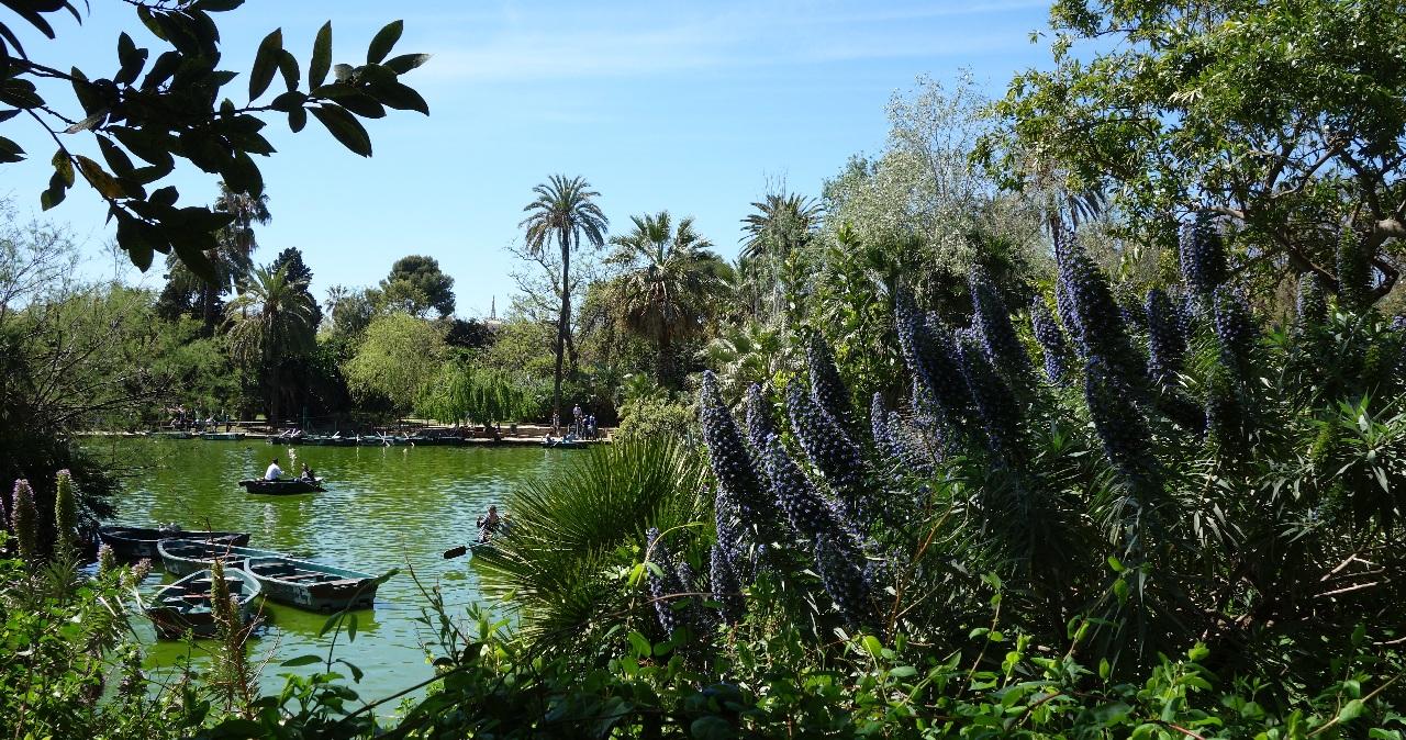 Lacul din Parc de la Ciutadella