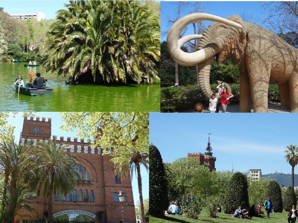 Atractiile Parcului de la Ciutadella
