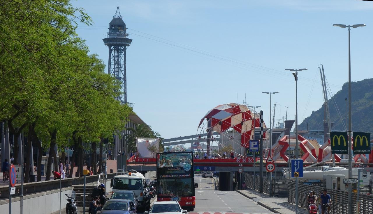 Barcelona intr-o zi!