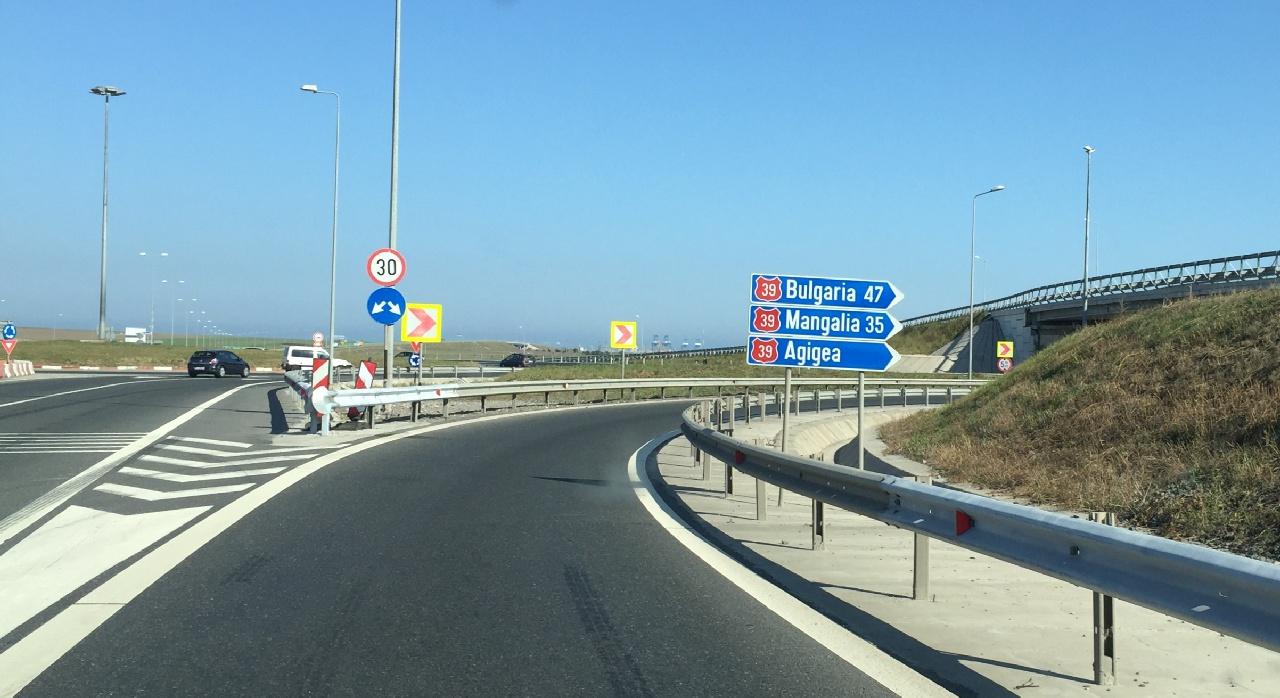Iesirea de pe Autostrada