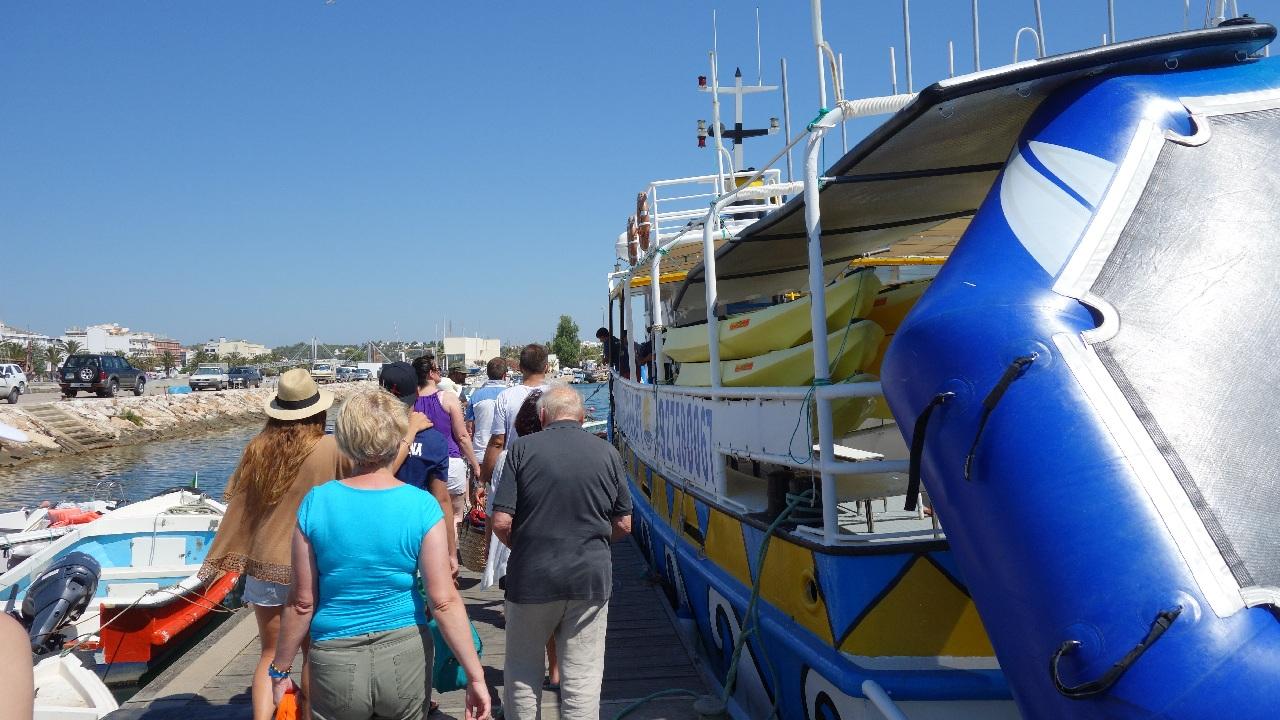 Imbarcarea pe vapor