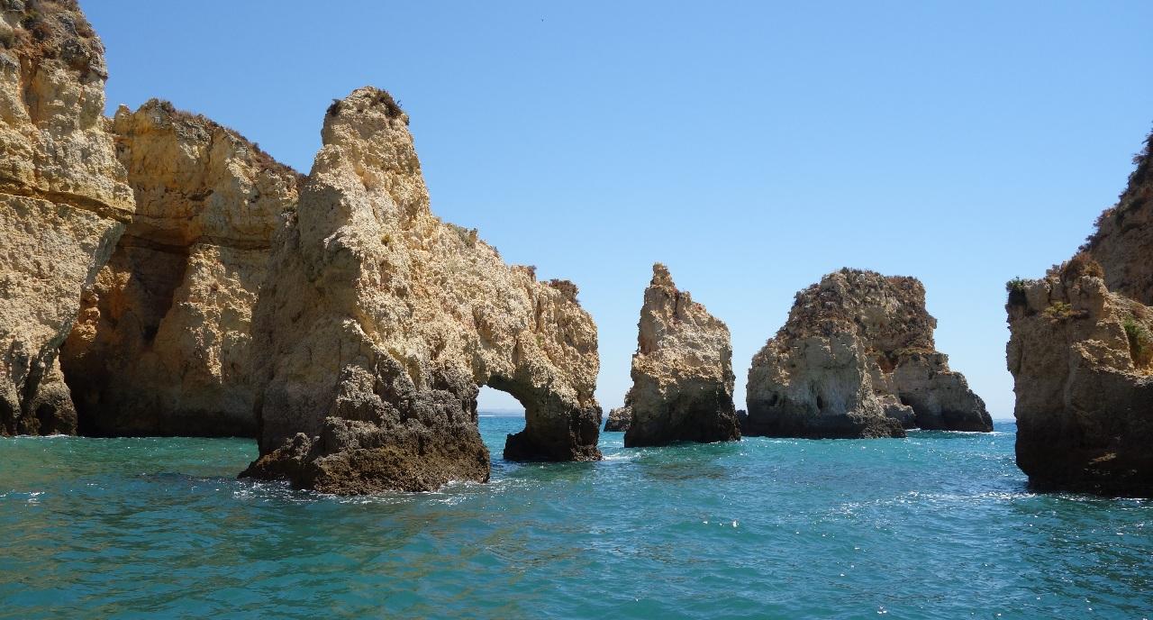 Monumentalele stanci din Algarve