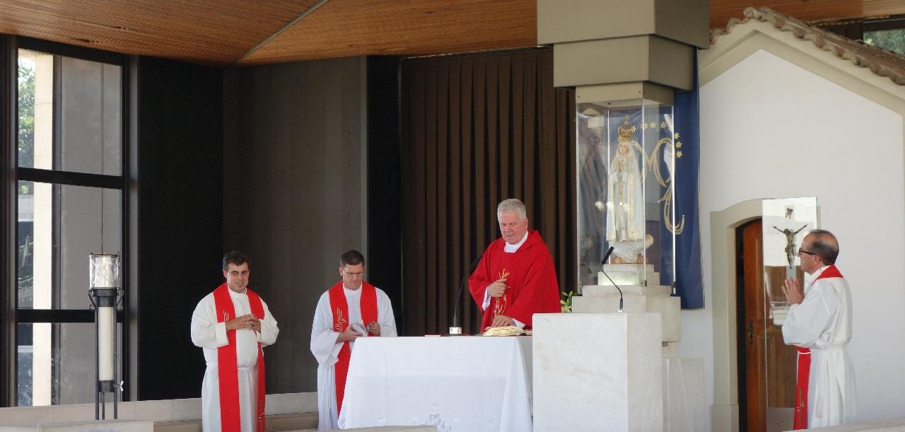 Slujba religioasa de la capela Aparitiilor