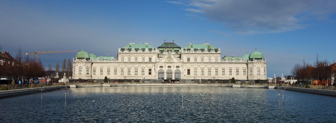 Palatul Belvedere, unul dintre obiectivele turistice incluse pe lista de discount-uri a cardului