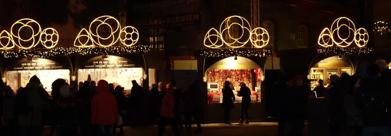 Casutele de la Stephansplatz
