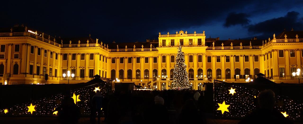 Schonbrunn - Piata de Craciun